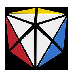 Dino Cube (4 Color)